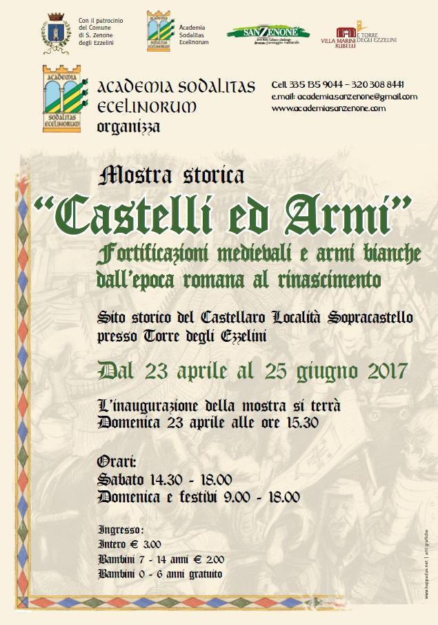 mostra castelli e armi-academia-sodalitas-ecelinorum-associazione-storico-culturale san zenone degli ezzelini 2017.JPG