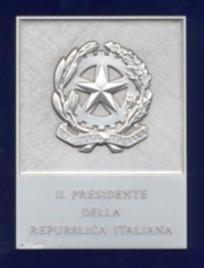 targa argento presidente-repubblica-italiana-academia-sodalitas-ecelinorum-associazione-storico-culturale