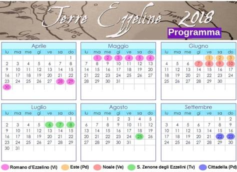 programma terre ezzeline 2018